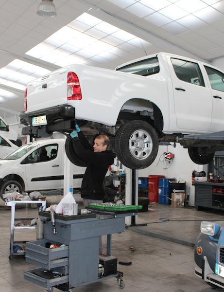 automotive taller mecánico